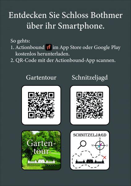 QR-Code Actionbound Schloss Bothmer