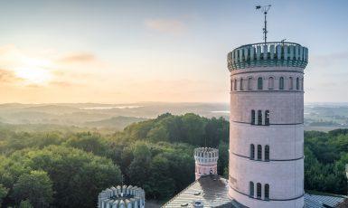 Drohnenaufnahme Jagdschloss Granitz
